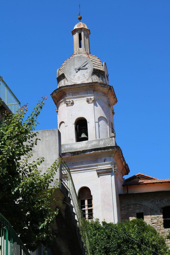 San Biagio della Cima (IM): campanile della Chiesa Parrocchiale dei Santi Fabiano e Sebastiano